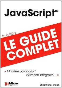 Couverture du livre : Javascript: Le guide complet