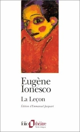 Couverture du livre : La Leçon
