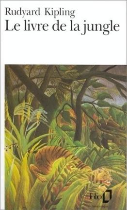Couverture du livre : Le livre de la Jungle