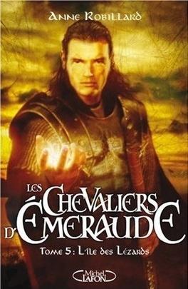 Couverture du livre : Les Chevaliers d'Émeraude, tome 5 : L'Île des Lézards