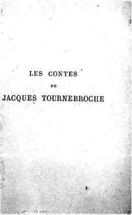 Couverture du livre : Les Contes de Jacques Tournebroche