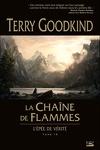 couverture L'Épée de Vérité, tome 9 : La Chaîne de Flammes