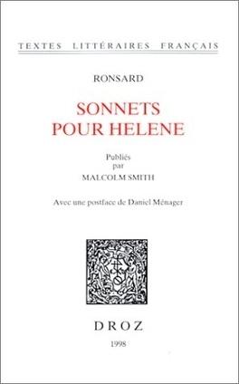 Couverture du livre : Sonnets pour Hélène