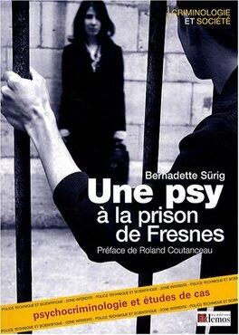 Couverture du livre : Une psy a la prison de Fresnes