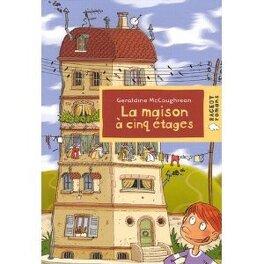 Couverture du livre : La maison à cinq étages