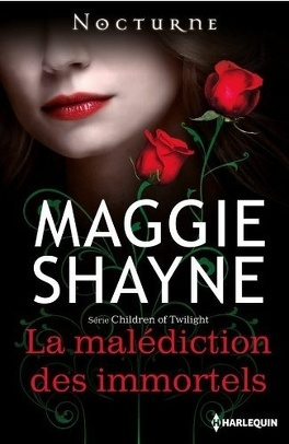 Couverture du livre : Children of Twilight, tome 2 : La malédiction des immortels
