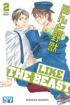 couverture Like The Beast, Tome 2