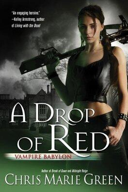 Couverture du livre : Vampire Babylon, Tome 4 : A Drop of Red