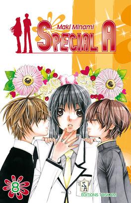 Couverture du livre : Special A, tome 8