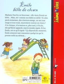 Couverture du livre : Émile, bille de clown