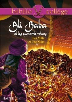 Couverture du livre : Ali Baba et les quarante voleurs