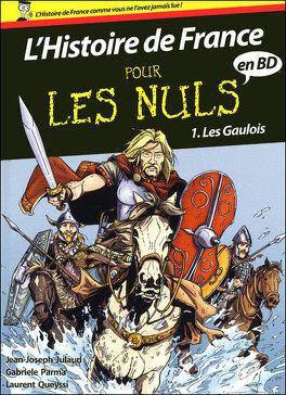 Couverture du livre : L'Histoire de France pour les Nuls en BD, tome 1 : Les Gaulois
