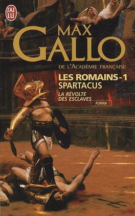 Couverture du livre : Les romains, tome 1 : Spartacus