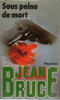 Couverture du livre : Sous peine de mort