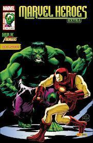 Couverture du livre : Marvel Heroes Extra N°12: Hulk Smash The Avengers