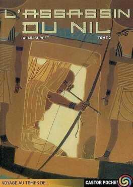 Couverture du livre : Trilogie de l'œil d'Horus, tome 2 : L'assassin du Nil