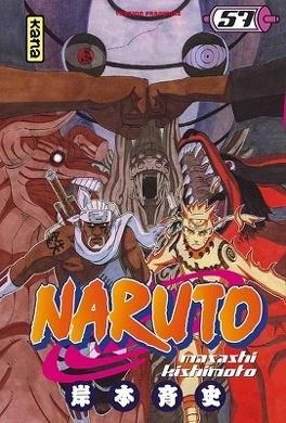 Couverture du livre : Naruto, Tome 57 : Naruto part en guerre.