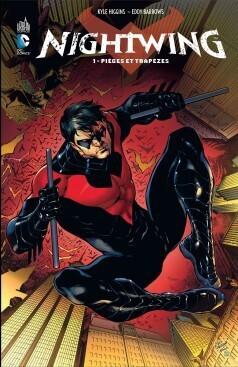 Couverture du livre : Nightwing, Tome 1 : Pièges et trapèzes