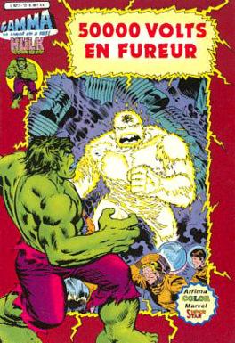 Couverture du livre : Hulk - 50 000 volts en fureur