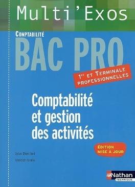 Comptabilite Et Gestion Des Activites Premiere Et Terminale Professionnelles Bac Pro Comptabilite Livre De Sylvie Chamillard