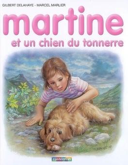 Couverture du livre : Martine et un chien du tonnerre