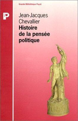 Couverture du livre : Histoire de la pensée politique