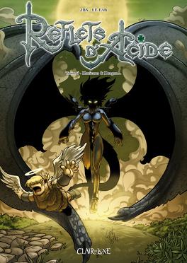 Couverture du livre : Reflets d'Acide, Tome 4 : Horizon et dragon...