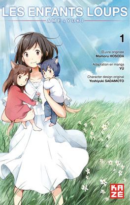 Couverture du livre : Les Enfants Loups : Ame & Yuki, Tome 1