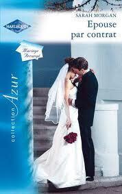 Couverture du livre : Epouse par contrat