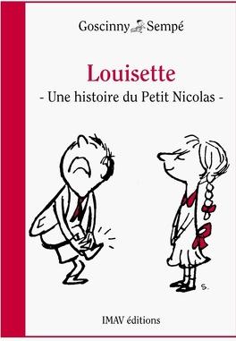 Couverture du livre : Louisette une histoire extraite du petit Nicolas