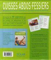 Couverture du livre : Cuisses-abdos-fessiers : 80 exercices pour tonifier et affiner votre silhouette