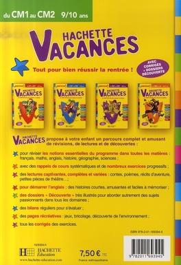 Hachette Vacances Du Cm1 Au Cm2 9 10 Ans Le Tout En Un