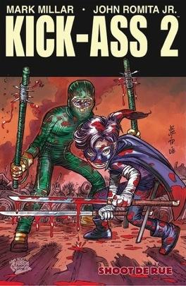 Couverture du livre : Kick-Ass, 2 tome 2 : Shoot de rue