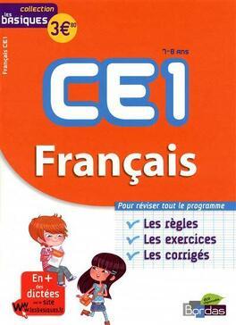 Francais Ce1 7 8 Ans Les Bases Les Exercices Les