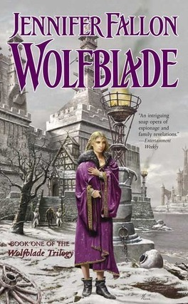 Couverture du livre : Wolfblade Trilogy, Tome 1 : Wolfblade
