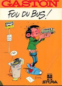 Couverture du livre : Gaston, HS : Fou du bus !