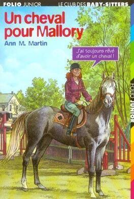 Couverture du livre : Le Club des Baby-sitters, Tome 54 : Un cheval pour Mallory