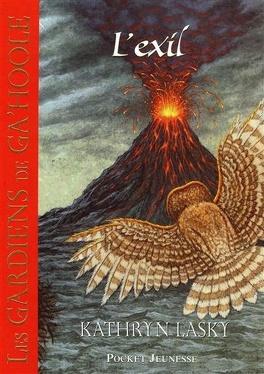 Couverture du livre : Les Gardiens de Ga'Hoole, tome 8 : L'exil