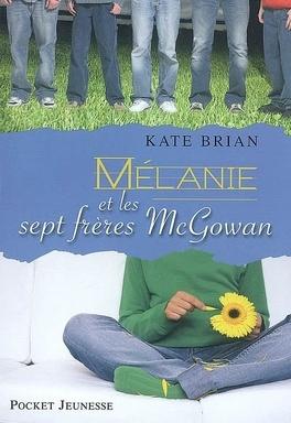 Couverture du livre : Mélanie et les sept frères McGowan