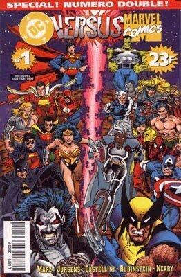 Couverture du livre : DC versus Marvel N°1