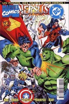 Couverture du livre : DC versus Marvel N°2