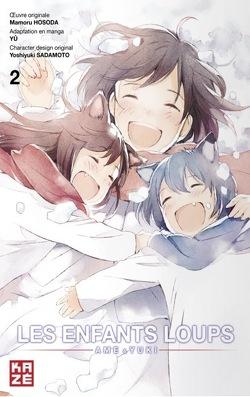 Couverture de Les Enfants Loups : Ame & Yuki, Tome 2
