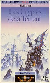 Couverture du livre : Loup* Ardent, tome 2 : Les Cryptes de la Terreur