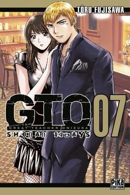 Couverture du livre : GTO - Shonan 14 days, tome 7