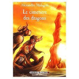 Couverture du livre : L'Archipel de la Lyre, Tome 3 : Le Cimetière des dragons
