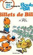 Boule et Bill, tome 21 : Billets de Bill