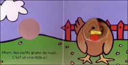 Couverture du livre : La poule Cot Cot