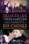 couverture Deux filles + trois garçons - les parents = dix choses que nous n'aurions pas dû faire