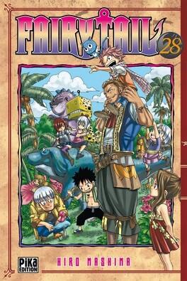 Couverture du livre : Fairy Tail, Tome 28