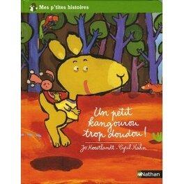 Couverture du livre : Un petit kangourou trop doudou !